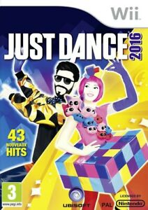 Nintendo Wii Spiel - Just Dance 2016 UK mit OVP