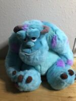 Disney Store Monster's Inc Sully Plush Stuffed Colorful Animal James P Sullivan