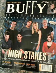 Angel / Buffy the Vampire Slayer Official Yearbook 2000 Paperback Fall 2000