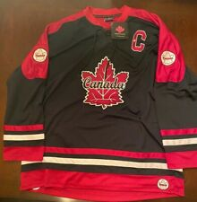 New Classique Canada Canada Hockey Jersey XL Black And Dark Red Captain