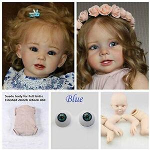 DIY Unpainted Reborn Dolls 28 Inch Silicone Doll Mold Reborn Dolls Accessories