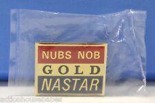 NUBS NOB - Ski Pin Badge Skiing - RED NASTAR GOLD - Michigan MI Mountains MTN