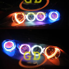 8 CCFL HALO RINGS ANGEL EYE For Mazda6 Mazda 6 multi color white blue red purple
