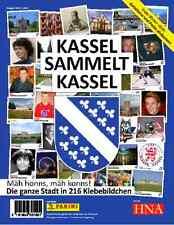 Panini Kassel sammelt Kassel 10 Tüten / 50 Sticker Städte Serie