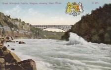 Antique POSTCARD c1907-20 Great Whirlpool Rapids NIAGARA FALLS, CANADA 15005