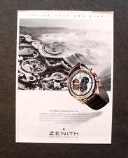 M527 - Advertising Pubblicità - 2013 - ZENITH EL PRIMERO CHRONOMASTER 1969
