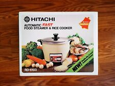 Hitachi Chime O Matic Rd-6103 10 Cup Rice Cooker Food Steamer