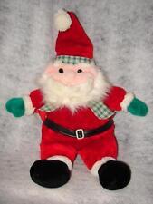 Irish Plush Santa - Christmas Santa Figures Statue ~ luch of Irish Santa Claus