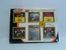 Matchbox Collectibles 50th Anniversary Commemorative Series SET US issue 2002