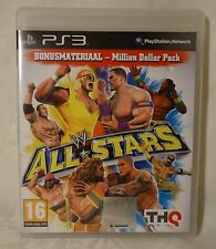 PLAYSTATION 3 PS3 Wrestling ALL STARS + Bonus MILLION DOLLAR PACK - WRESTLEMANIA