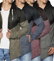 Tazzio Fashion sportlicher Hoody Kapuzen-Pullover Sweatshirt-Jacke Cardigan WOW
