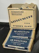 More details for stereo films bruguiere 4 boxes sur film brevete sgdg stereoscope joblot