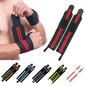 Weight Lifting Wrist Wraps Weight Lifting Workout Training Gym fit Straps
