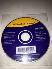 HP Deskjet 642C/648C WINDOWS 3.1x,95,98,NT 4.0,v 3.1 Mac OS 8.1&USB CD COMP SOFT