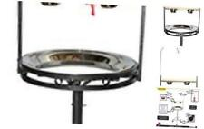 Stainless Steel Tray, Non-Toxic, Powder Coated Parrot Playstand with Black