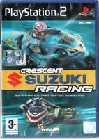 CRESCENT SUZUKI RACING PLAYSTATION 2 GIOCO PS2 PAL ITA - NUOVO SIGILLATO
