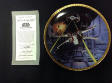 Red Five X-Wing Fighter - Star Wars Space Vehicles Plate Collection1995 No.0436E