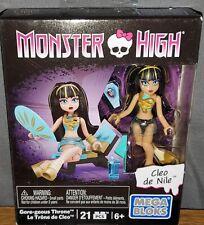 Mega Bloks Monster High Cleo De Nile Gore-geous Thrones Set