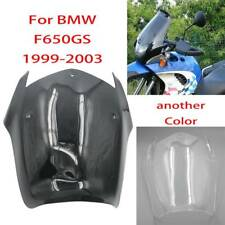 For BMW F650GS 1999 2000 2001 2002 2003 Smoke ABS Air Windscreen Windshield