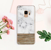 Wood Samsung Galaxy S10e Plus Case Marbled Skin Samsung Note 8 9 S7 S8+ Cover