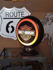 HARLEY DAVIDSON  ILLUMINATED BAR LIGHT 240V PERFECT BAR MAN CAVE HOT ROD