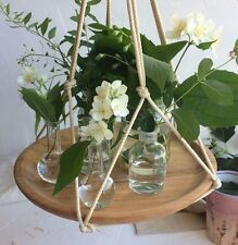 MENSOLA da Parete in Legno da Appendere in Legno Galleggiante Ripiani Swing piante decorative titolare