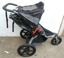 Bob Revolution Se Single Jogging Baby Stroller, Black & Grey