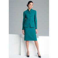 New Turquoise Womens Skirt Suit Slim Trouser Female Skirt Womens Tailored Suits