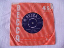 Billy Fury - When Will You Say I Love You / All I Wanna Do Is Cry - Decca F11655