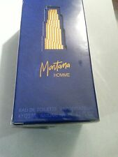 MONTANA HOMME EAU DE TOILETTE MEN'S SPRAY 4.2 0Z NIB SEALED