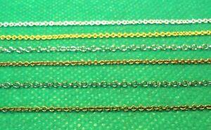 Ultra Fine Brass Metal Model Modelling Chain For Hornby etc HO OO Gauge Scenery