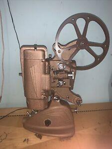 antique art deco projector ampro Film Reel Streamline 1930
