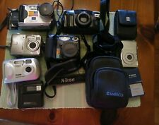 Lot Of 6 Untested As-Is Parts Repair Working? Digital Cameras No Chargers
