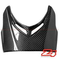 2015-2018 Diavel Upper Front Nose Headlight Panel Trim Fairing Cowl Carbon Fiber
