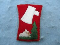 WWII US Army Patch 70th Division Trail Blazers Europe WW2