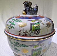 Japan Imari Pot with lid