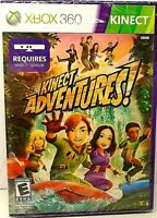 XBOX 360 Kinect Adventures! (2010) Video Game Brand New - Sealed