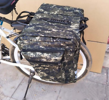 Mountain Road Bike Camo Trunk Bags Cycling Double Side Rear Rack Tail Seat Pack