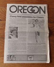 >Rare 1981 Steve PREFONTAINE CLASSIC PROGRAM Matt Centrowitz, Oregon Ducks