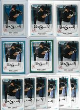 Ben Gamel Brewers Lot (12) 2011 Chrome Rookies w/ Parallels #d /450 /500 Mint