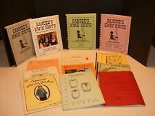 Lot of 13 Assorted Books for Knitting Machines Sandee's Bulky, Jacket, Vests