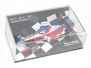 1/43 BAR 01 Supertec J.Villeneuve 1999 Season    Zip Design - Twin liveries