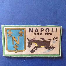 Calciatori 1970/71 Scudetto Napoli in raso recuperato