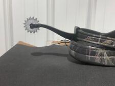 Croc Spur shoe charm. Spurs fit all adult Crocs. Very cool shoe accessory Silver