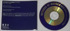 Methods of Mayhem Motley True  New Skin   U.S. promo cd  -Rare!