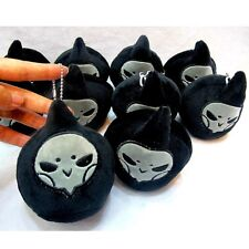 2 PCS Overwatch Reaper Plush Doll Pendant Stuffed Toys OW Key Chain Collectible