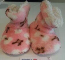 lotto 800 pantofole scarpe babuce rosa bimba bambina n.25-26