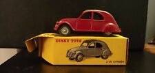 FRENCH DINKY 535 CITROEN 2CV - EXCELLENT in original VERY GOOD BOX