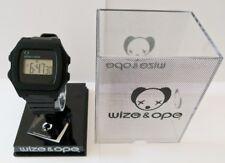 Wize & Ope Black Digital Treacks Wrist Watch (Brand New, Boxed)