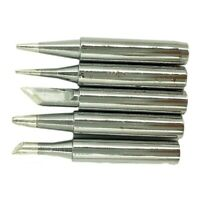 5PCS Soldering Iron Replacement Iron Tool Set Solder Tips HIgh Precision xian +